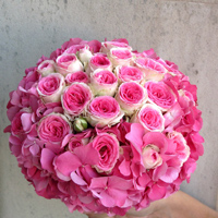 ::Bridal bouquet 'Candy'
